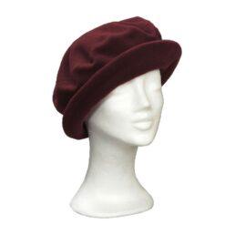 KOTRÁS bordó körkarimás kalap