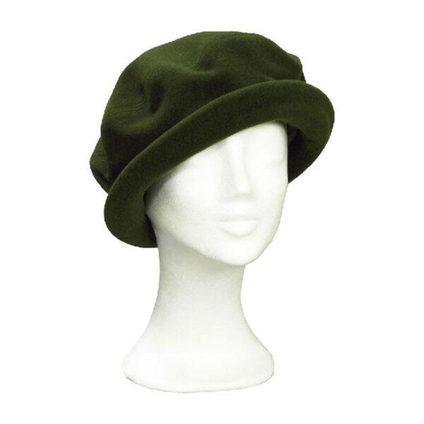 KOTRÁS zöld körkarimás kalap