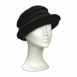 KOTRÁS fekete Német kalap