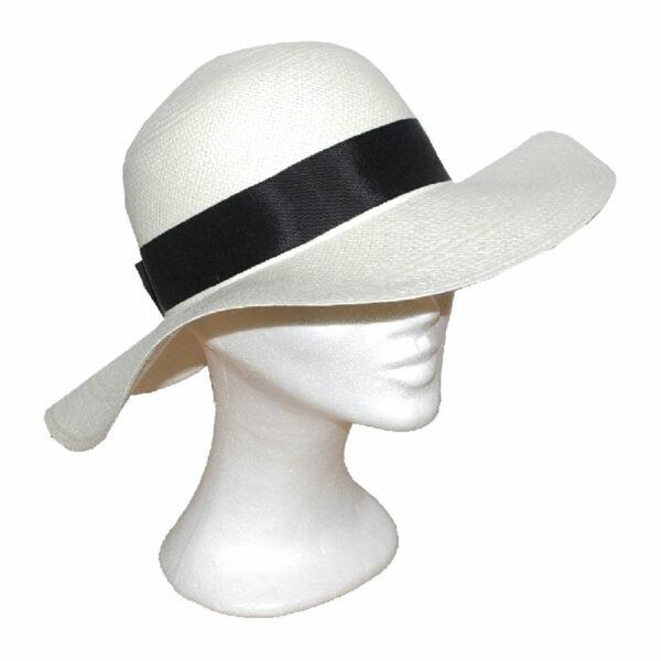Kalap -   nagykarimás női panama kalap