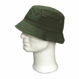 KOTRÁS zöld vászon Surda kalap