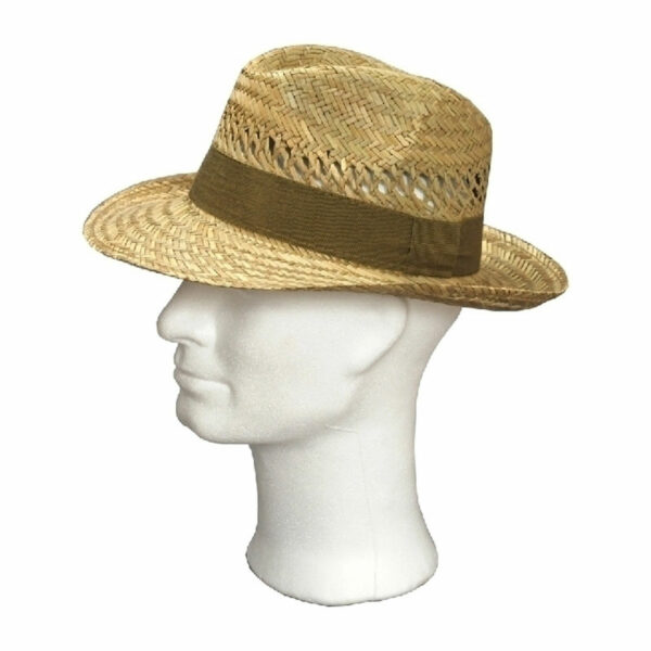 Kalap -  nagyszélű férfi szalma kalap