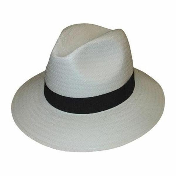 Kalap -  fehér traveller férfi szalma kalap