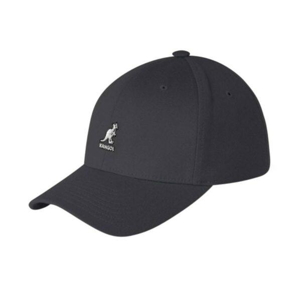 KANGOL flexfit fekete baseball sapka