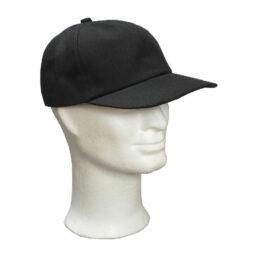 KOTRÁS fullcap vászon fekete baseball sapka