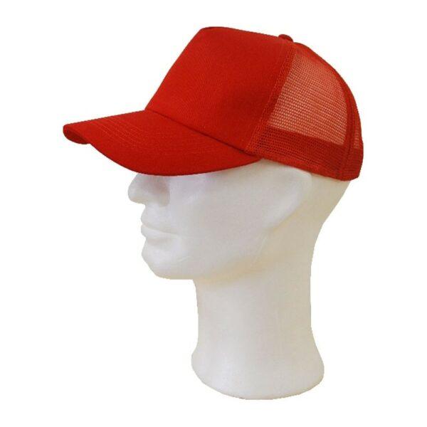 Sapka  - hálós piros baseball sapka