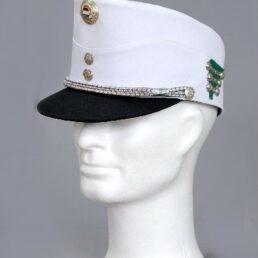 KOTRÁS Fehér katonai sapka
