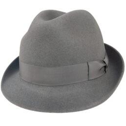 tonak szürke kalap nyúlszőr