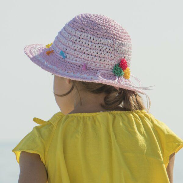 gyerek szalma kalap
