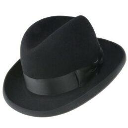 Homburg tonak nyúlszőr kalap