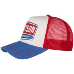 Stetson Trucker Cap piros-kék baseball sapka