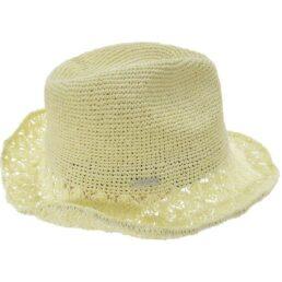 seeberger szalma kalap vajszín