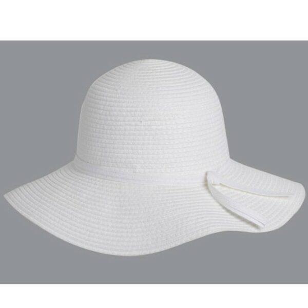 fehér női szalma kalap
