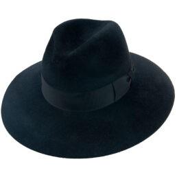 tonak fekete női kalap