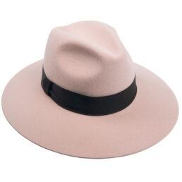 tonak női nyúlszőr kalap púder