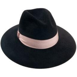 tonak női fekete kalap