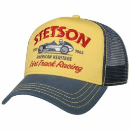 Stetson Trucker Cap Dirt Track Racing baseball sapka