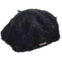 seeberger angóra svájci sapka fekete