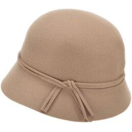 seeberger női gyapjú kalap camel