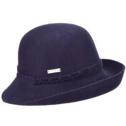 seeberger női kalap kék