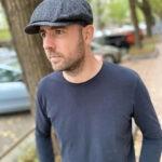 newsboy cap halszálkás