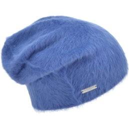 seeberger angóra sapka kék