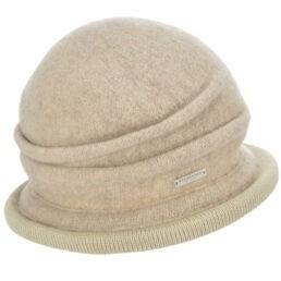 seeberger gyapjú kalap bézs