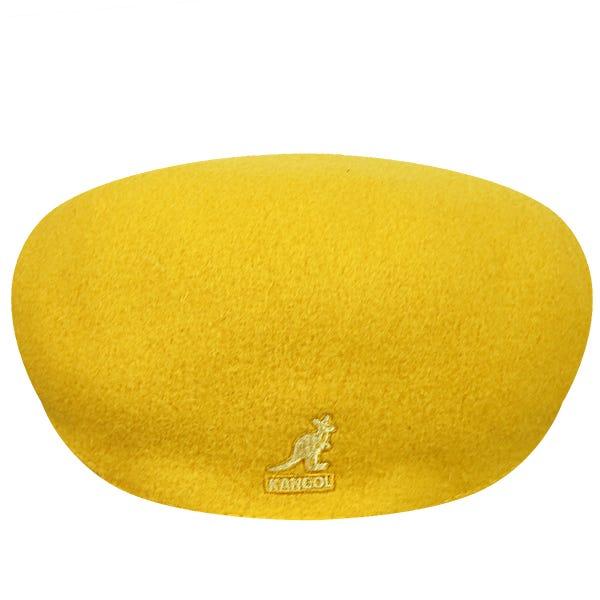 kangol wool 504 sárga
