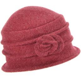 seeberger gyapjú kalap bordó