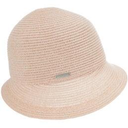 Seeberger női szalma kalap púderrózsa