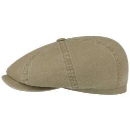 stetson organic cotton newsboy cap sapka