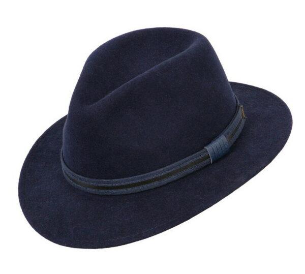 faustmann gyapjú kalap sötétkék