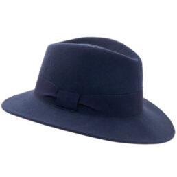 faustmann sötétkék gyapjú kalap